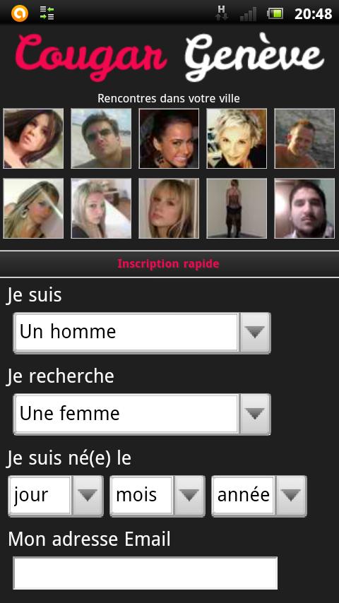 Version mobile de Cougar Genève